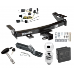 """Trailer Tow Hitch For 05-09 Chevy Uplander Pontiac Montana SV6 Buick Terraza Saturn Relay Deluxe Package Wiring 2"""" Ball and Lock"""