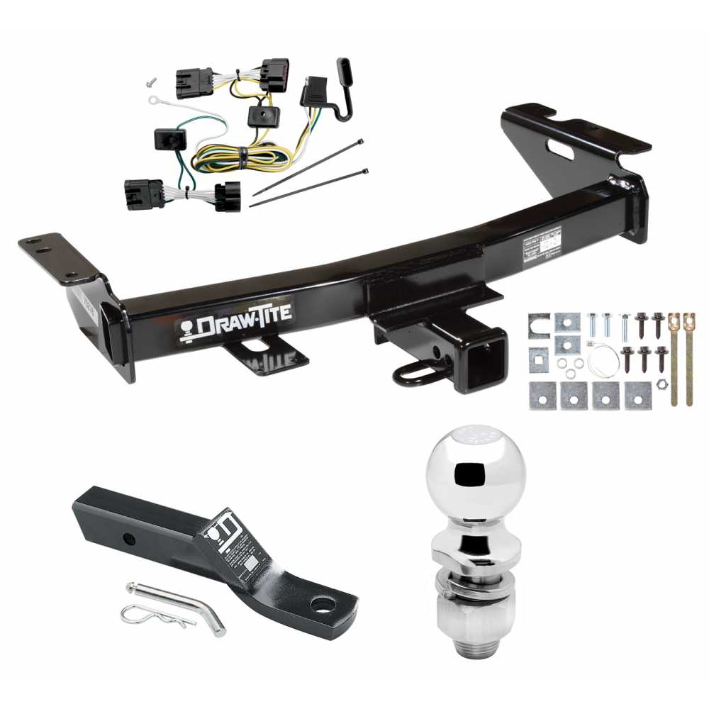 [SCHEMATICS_4HG]  Trailer Tow Hitch For 05-09 Chevy Uplander Pontiac Montana SV6 Buick Terraza  Saturn Relay Complete Package w/ Wiring and 2