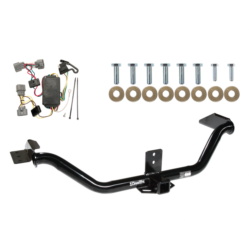 Wondrous Trailer Tow Hitch For 06 14 Honda Ridgeline W Wiring Harness Kit Wiring Cloud Brecesaoduqqnet