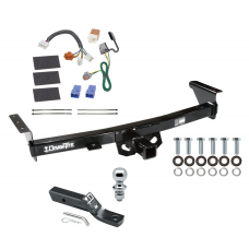 "Trailer Tow Hitch For 05-19 Nissan Frontier 09-12 Suzuki Equator Complete Package w/ Wiring and 1-7/8"" Ball"