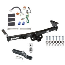 "Trailer Tow Hitch For 05-19 Nissan Frontier 09-12 Suzuki Equator Complete Package w/ Wiring and 2"" Ball"