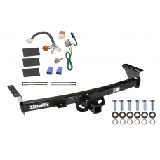 Trailer Hitch For 05-19 Nissan Frontier 09-12 Suzuki Equator Tow Receiver w/ Wiring Harness Kit