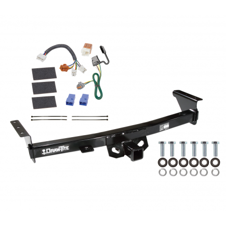 Trailer Hitch For 05-20 Nissan Frontier 09-12 Suzuki Equator Tow Receiver w/ Wiring Harness Kit