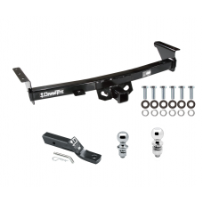 "Trailer Tow Hitch For 05-19 Nissan Frontier 09-12 Suzuki Equator Receiver w/ 1-7/8"" and 2"" Ball"
