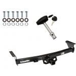 Trailer Tow Hitch For 05-19 Nissan Frontier 09-12 Suzuki Equator w/ Security Lock Pin Key
