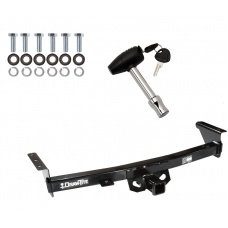 Trailer Tow Hitch For 05-20 Nissan Frontier 09-12 Suzuki Equator w/ Security Lock Pin Key