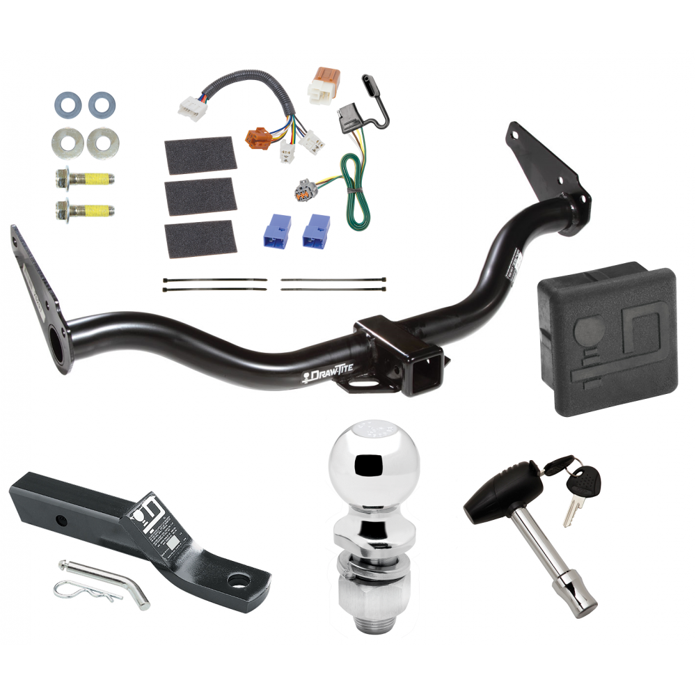 trailer tow hitch for 05 15 nissan xterra deluxe package. Black Bedroom Furniture Sets. Home Design Ideas