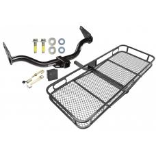 Trailer Tow Hitch For 05-15 Nissan Xterra Basket Cargo Carrier Platform Hitch Lock and Cover