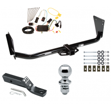 """Trailer Tow Hitch For 04-06 Dodge Durango Complete Package w/ Wiring and 1-7/8"""" Ball"""