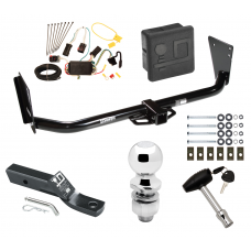 """Trailer Tow Hitch For 04-06 Dodge Durango Deluxe Package Wiring 2"""" Ball and Lock"""