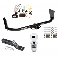 """Trailer Tow Hitch For 04-06 Dodge Durango Complete Package w/ Wiring and 2"""" Ball"""