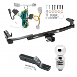 "Trailer Tow Hitch For 08-09 Ford Taurus Mercury Sable Sedan Complete Package w/ Wiring and 2"" Ball"