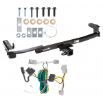 Trailer Tow Hitch For 08-09 Ford Taurus Mercury Sable Sedan w/ Wiring Harness Kit