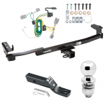 "Trailer Tow Hitch For 08-09 Ford Taurus X Complete Package w/ Wiring and 2"" Ball"