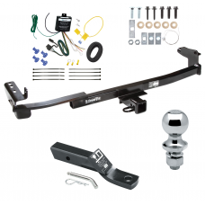 """Trailer Tow Hitch For 05-07 Mercury Montego  Complete Package w/ Wiring and 1-7/8"""" Ball"""