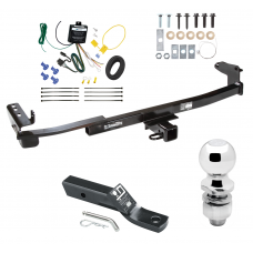 """Trailer Tow Hitch For 05-07 Mercury Montego Complete Package w/ Wiring and 2"""" Ball"""