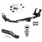 """Trailer Tow Hitch For 05-07 Chrysler Town & Country Dodge Grand Caravan w/Stow & Go Seats Complete Package w/ Wiring and 1-7/8"""" Ball"""