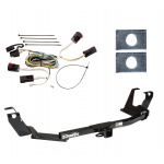 Trailer Tow Hitch For 05-07 Chrysler Town & Country Dodge Grand Caravan w/Stow & Go Seats w/ Wiring Harness Kit