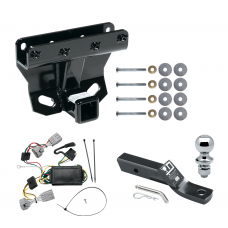 """Trailer Tow Hitch For 05-06 Jeep Grand Cherokee Complete Package w/ Wiring and 1-7/8"""" Ball"""