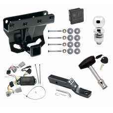 """Trailer Tow Hitch For 05-06 Jeep Grand Cherokee Deluxe Package Wiring 2"""" Ball and Lock"""