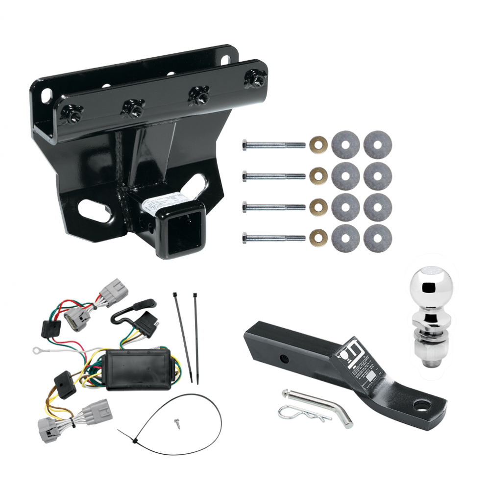 [QMVU_8575]  Trailer Tow Hitch For 05-06 Jeep Grand Cherokee Complete Package w/ Wiring  and 2