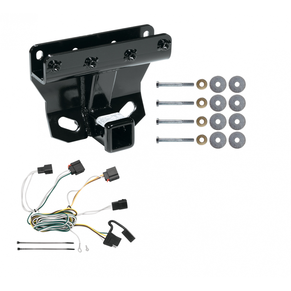 trailer tow hitch for 07 10 jeep grand cherokee w wiring. Black Bedroom Furniture Sets. Home Design Ideas