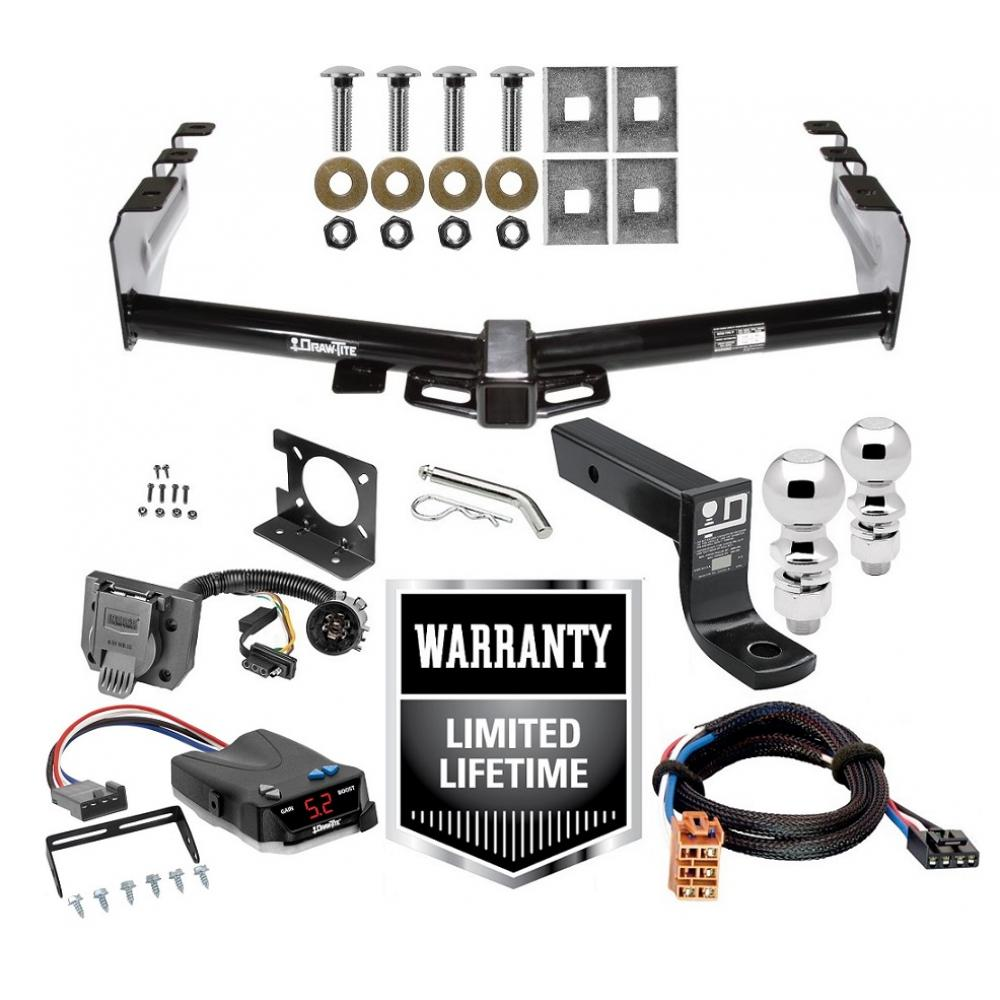 Trailer Hitch Brake Control And Wiring Kit For 03