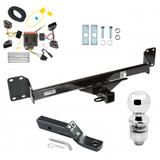 "Trailer Tow Hitch For 04-10 Volkswagen Touareg Complete Package w/ Wiring and 2"" Ball"