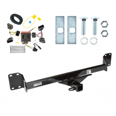 Trailer Tow Hitch For 04-10 Volkswagen Touareg w/ Wiring Harness Kit
