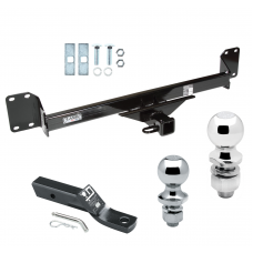 "Trailer Tow Hitch For 04-10 Volkswagen Touareg Receiver w/ 1-7/8"" and 2"" Ball"