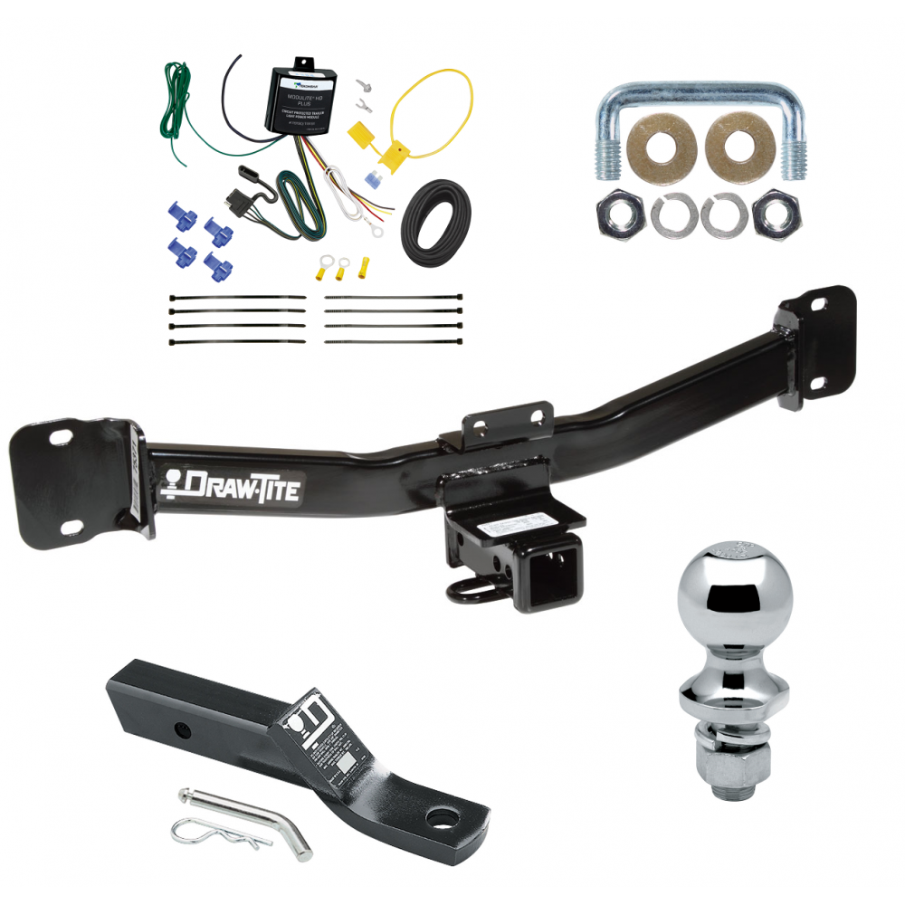 Trailer Tow Hitch For 04-10 BMW X3 Complete Package W