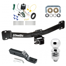 """Trailer Tow Hitch For 04-10 BMW X3 Complete Package w/ Wiring and 2"""" Ball"""
