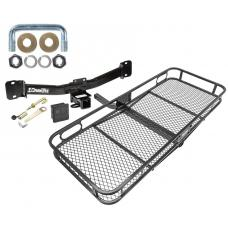 Trailer Tow Hitch For 04-10 BMW X3 Basket Cargo Carrier Platform Hitch Lock and Cover