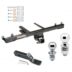 """Trailer Tow Hitch For 06-11 Mercedes-Benz ML320 ML350 ML450 ML500 ML550 Receiver w/ 1-7/8"""" and 2"""" Ball"""