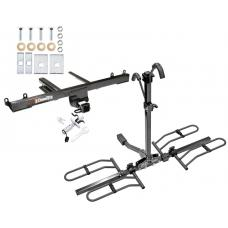Trailer Tow Hitch For 06-11 Mercedes ML350 ML450 ML500 ML550 ML320 Platform Style 2 Bike Rack w/ Anti Rattle Hitch Lock