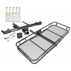 Trailer Tow Hitch For 06-11 Mercedes ML350 ML450 ML500 ML550 ML320 Basket Cargo Carrier Platform Hitch Lock and Cover