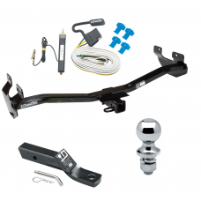 "Trailer Tow Hitch For 06-10 Hummer H3 Complete Package w/ Wiring and 1-7/8"" Ball"