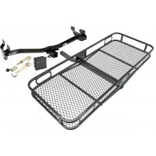 Trailer Tow Hitch For 06-10 Hummer H3 Basket Cargo Carrier Platform Hitch Lock and Cover