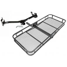 Trailer Tow Hitch For 06-10 Hummer H3 Basket Cargo Carrier Platform w/ Hitch Pin