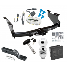 """Trailer Tow Hitch For 03-09 Dodge Ram 1500 2500 3500 Deluxe Package Wiring 2"""" Ball and Lock"""