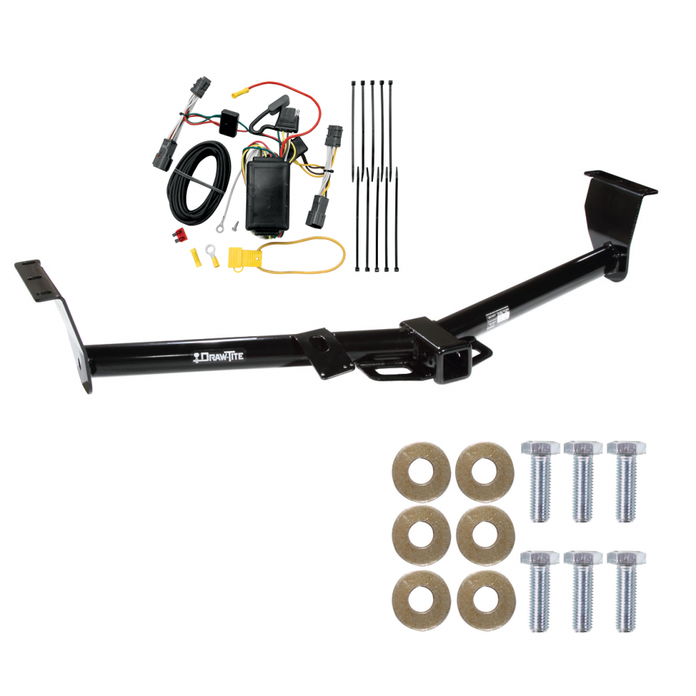 trailer tow hitch for 07 09 hyundai entourage 06 12 14 kia. Black Bedroom Furniture Sets. Home Design Ideas