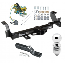 "Trailer Tow Hitch For 02-07 Buick Rendezvous 01-05 Pontiac Aztek Complete Package w/ Wiring and 2"" Ball"