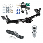 "Trailer Tow Hitch For 06-10 Ford Explorer 08-10 Mercury Mountaineer Complete Package w/ Wiring and 1-7/8"" Ball"