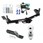 "Trailer Tow Hitch For 06-10 Ford Explorer 08-10 Mercury Mountaineer Complete Package w/ Wiring and 2"" Ball"