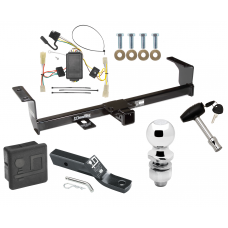 """Trailer Tow Hitch For 06-13 Suzuki Grand Vitara Except 3 Dr Hatchback Deluxe Package Wiring 2"""" Ball and Lock"""