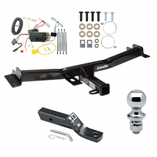 "Trailer Tow Hitch For 07-14 Toyota FJ Cruiser Complete Package w/ Wiring and 1-7/8"" Ball"