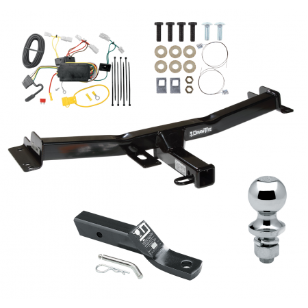 trailer tow hitch for 07 14 toyota fj cruiser complete