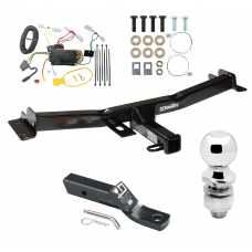 "Trailer Tow Hitch For 07-14 Toyota FJ Cruiser Complete Package w/ Wiring and 2"" Ball"