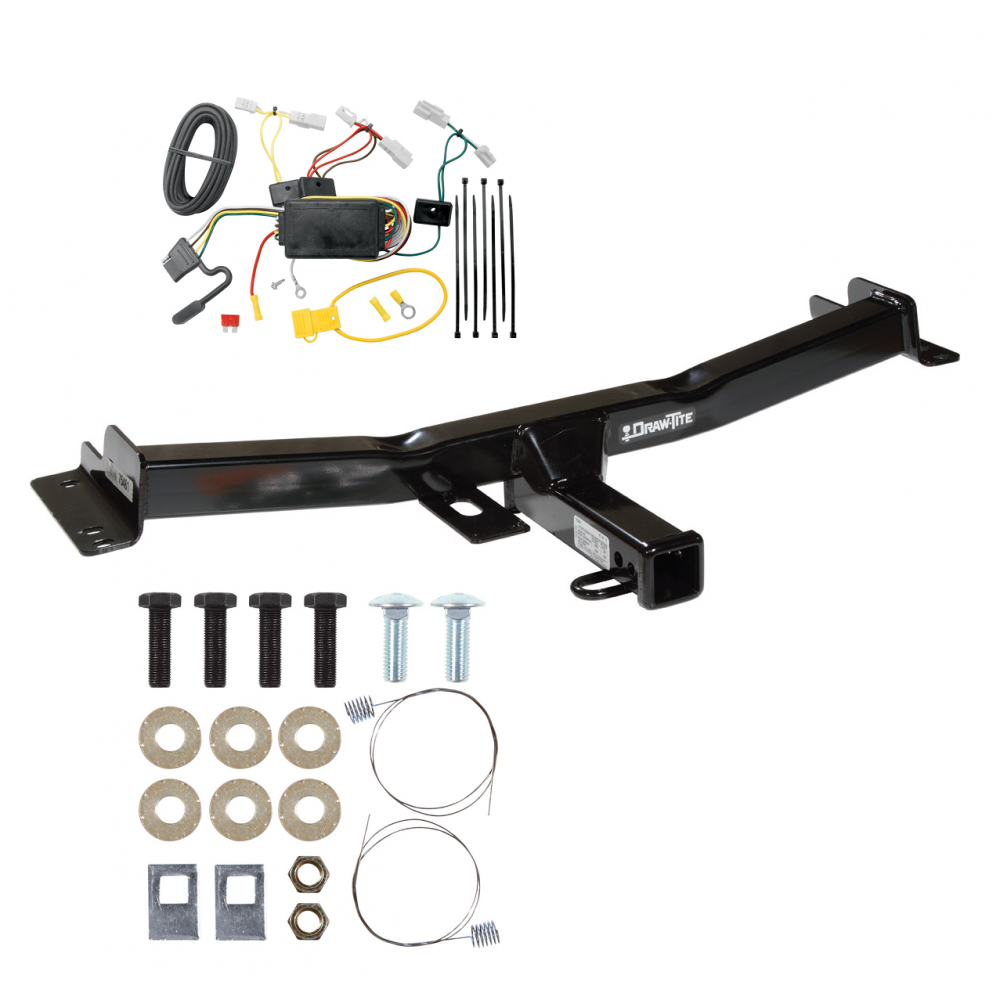 trailer tow hitch for 07 14 toyota fj cruiser w wiring harness kit