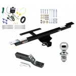 "Trailer Tow Hitch For 07-09 Mercedes-Benz R320 06-12 R350 06-07 R500 Complete Package w/ Wiring and 1-7/8"" Ball"